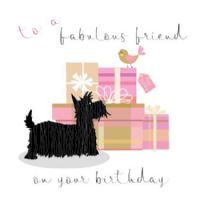 Pink Pig - Card - Fab Friend Birthday
